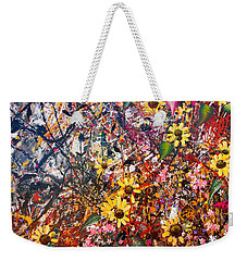 Flourish Detail Weekender Tote Bag