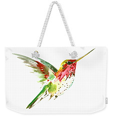 Flying Hummingbird Weekender Tote Bag by Suren Nersisyan
