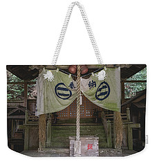 Forrest Shrine, Japan Weekender Tote Bag