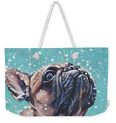 French Bulldog Weekender Tote Bag by Lee Ann Shepard