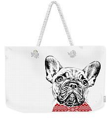French Bulldog Portrait Weekender Tote Bag