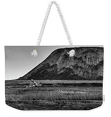 Weekender Tote Bag featuring the photograph Fresh Kills by Steven Richman
