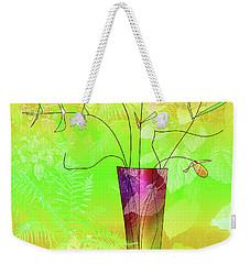 Garden Vase Weekender Tote Bag