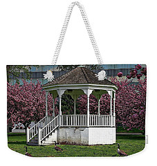 Gazebo In The Park Weekender Tote Bag