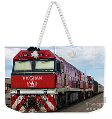 ghan at Alice Springs Weekender Tote Bag