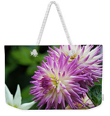 Golden Gate Park Dahlia Weekender Tote Bag