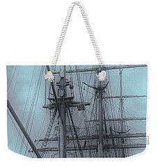 Weekender Tote Bag featuring the photograph Gorch Fock ... by Juergen Weiss