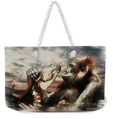 Gorilla  Weekender Tote Bag