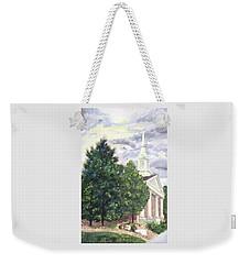 Hale Street Chapel Weekender Tote Bag by Jane Autry