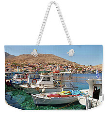 Halki Island In Greece Weekender Tote Bag