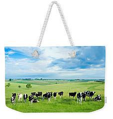 Happy Cows Weekender Tote Bag