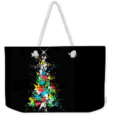 Weekender Tote Bag featuring the digital art Happy Holidays by Ludwig Keck