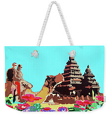 Happy Journey Weekender Tote Bag