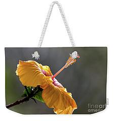 Hibiscus In Bloom Weekender Tote Bag by Pravine Chester