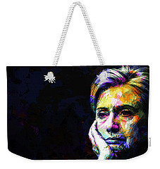 Hillary Clinton Weekender Tote Bag by Svelby Art