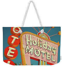 Holiday Motel, Las Vegas Weekender Tote Bag