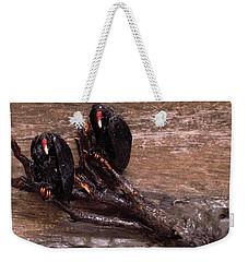2 Hulking Vultures Weekender Tote Bag