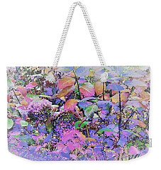 Hydrangea Weekender Tote Bag by Ann Johndro-Collins
