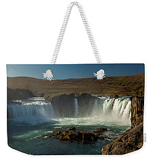 Iceland Weekender Tote Bag by Richard Engelbrecht