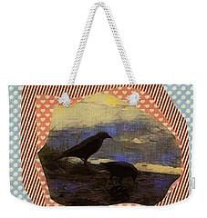 In The Shadows Weekender Tote Bag by Kathie Chicoine