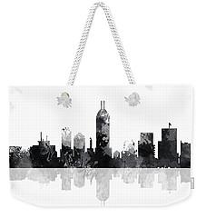 Indiana Indianapolis Skyline Weekender Tote Bag