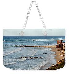 Jaffa Beach 7 Weekender Tote Bag by Isam Awad