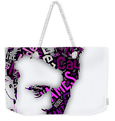 James Dean Movie Titles Weekender Tote Bag