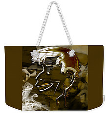 Weekender Tote Bag featuring the mixed media Jerry Lewis  by Marvin Blaine