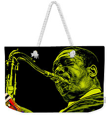 John Coltrane Collection Weekender Tote Bag by Marvin Blaine
