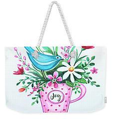 Joy  Weekender Tote Bag