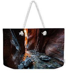 Kanarra Slot Canyon Weekender Tote Bag