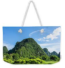 Karst Mountains Scenery Weekender Tote Bag