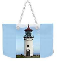 Kilauea Lighthouse On Kauai Weekender Tote Bag