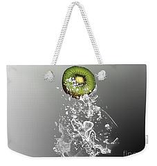 Kiwi Splash Weekender Tote Bag