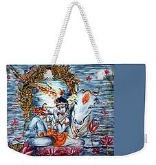 Krishna Weekender Tote Bag by Harsh Malik
