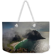 Kvalvika Beach Weekender Tote Bag by Aivar Mikko