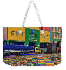 Weekender Tote Bag featuring the photograph La Boca 01 by Bernardo Galmarini