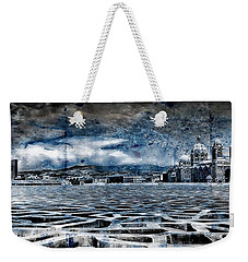 La Major Vue Des Dentelles Du Mucem Weekender Tote Bag