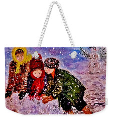 Let It Snow..let It Snow..  Weekender Tote Bag