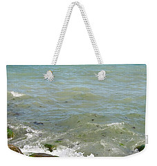 Lighthouse In Sea Weekender Tote Bag