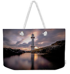 Weekender Tote Bag featuring the photograph Lighthouse by Okan YILMAZ