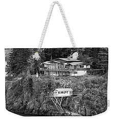 Living On The Edge Weekender Tote Bag