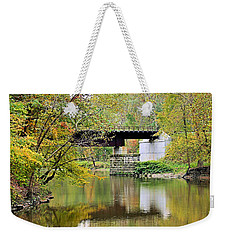 Weekender Tote Bag featuring the photograph Lock 29 by Kristin Elmquist
