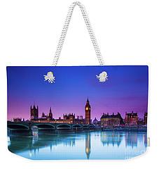 London Big Ben  Weekender Tote Bag by Mariusz Czajkowski