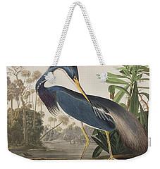 Louisiana Heron  Weekender Tote Bag by John James Audubon