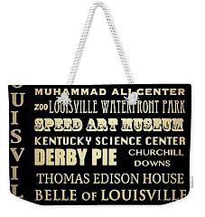 Louisville Famous Landmarks Weekender Tote Bag
