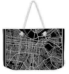 Louisville Kentucky City Map 6 Weekender Tote Bag