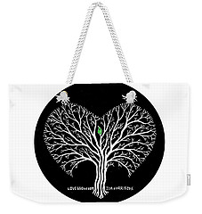 Love Grows Hope Weekender Tote Bag