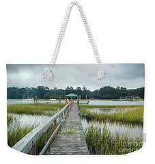 Lowcountry Dock Weekender Tote Bag