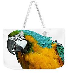 Macaw Bird Weekender Tote Bag